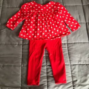 Tommy Hilfiger two piece 18 month girl set